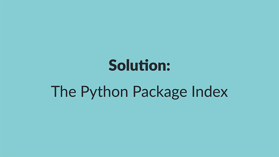 Inside the Cheeseshop: How Python Packaging Works - Dustin